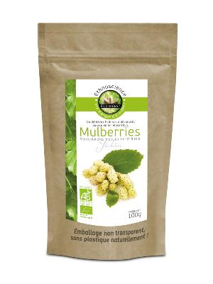 Mulberries blanches Bio 100g